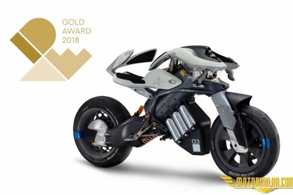 Yamaha Motoroid Ödül Aldı