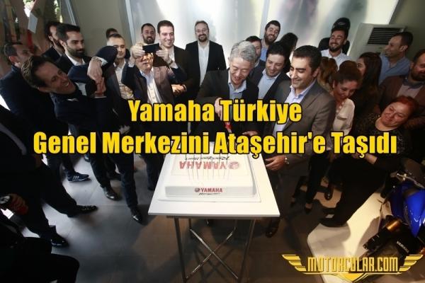 Yamaha Türkiye Genel Merkezini Ataşehir'e Taşıdı