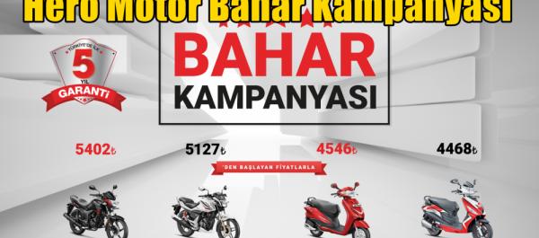 Hero Motor Bahar Kampanyası