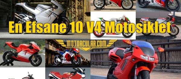 En Efsane 10 V4 Motosiklet