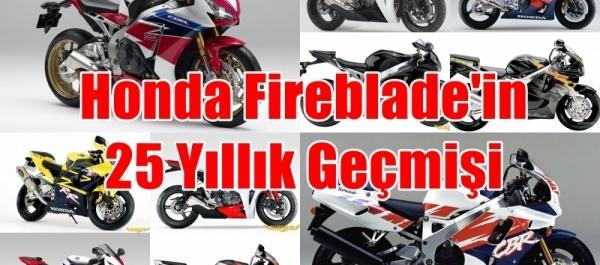 Honda Fireblade'in 25 Yıllık Geçmişi