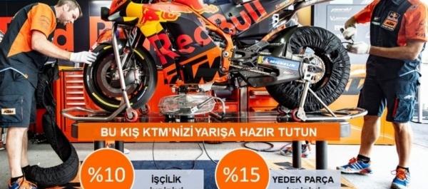KTM Servis Kampanyası