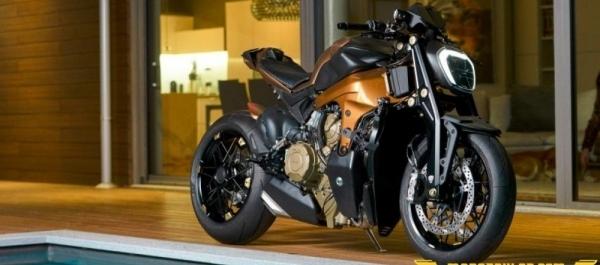 Officine GP Design'dan Ducati V4 Penta