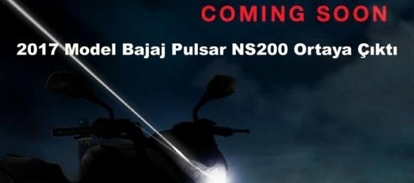 2017 Model Bajaj Pulsar NS200 Ortaya Çıktı