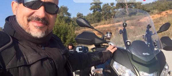 Aprilia - Caponord Rallye - 2015 Test Sürüşü