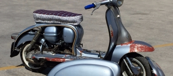 1961 Model Lambretta TV 175/Serie 2 Restorasyonu