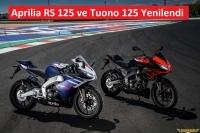 Aprilia RS 125 ve Tuono 125 Yenilendi