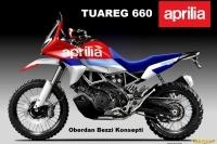 Aprilia Tuareg 660 Test Edilirken Görüntülendi