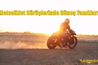Motosiklet Sürüşlerinde Güneş Yanıkları