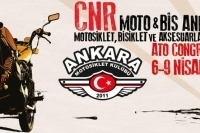 Moto&Bis; Ankara Motosiklet Bisiklet ve Aksesuarları Fuarı, Ankara 6-9 Nisan 2017