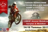 3. MKSF Aizanoi Motokros Yarışları & Motofest Çavdarhisar, Kütahya 14-16 Temmuz 2017