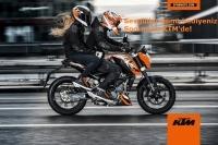 Sevgililer günü hediyeniz Spormoto KTM'de!