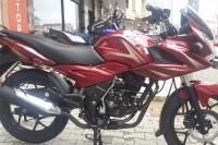 BAJAJ DISCOVER 150F ÜÇERLEAR MOTORDA KAMPANY