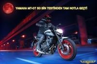 YAMAHA MT-07 MOTORRAD DERGİSİNİN 50 BİN TESTİNDEN TAM NOTLA GEÇTİ