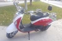 2018 Modial ZNU (Kırmızı) Motosiklet