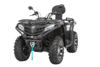 CF MOTO 400 ATV  ÜÇERLER MOTORDA KAMPANYA