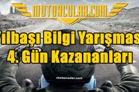 Motorcular Yılbaşı Bilgi Yarışması 4.Gün Sonuçları
