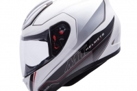 Mt Revenge Limited Evo Gloss White/Black Full Face Fiber Glass Po