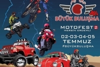 Mersin Büyük Buluşma Motofest 2 02-05 Temmuz 2020 Milyon Beach, Erdemli - Mersin
