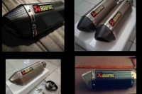 AKRAPOVIC YOSHIMURA STICKERLI REPLICA EGZOZ