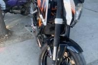KTM 390 BLOK HASARLI