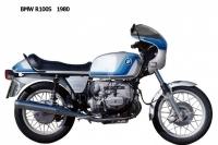 BMW R100S - 1980