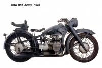 BMW R12 Army - 1938