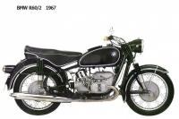 BMW R60-2 - 1967