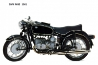 BMW R69S - 1961
