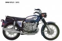 BMW R75-5 - 1972