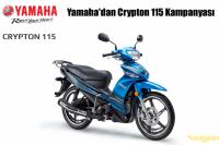 Yamaha'dan Crypton 115 Kampanyası
