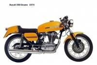 Ducati 350 Desmo - 1974