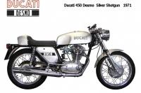 Ducati-450Desmo Silver Shotgun - 1971