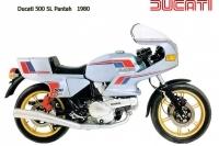 Ducati 500SL Pantah - 1980