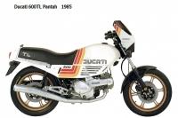 Ducati 600TL Pantah - 1985