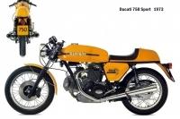 Ducat 750 Sport - 1973