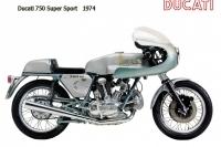 Ducati 750 Super Sport - 1974