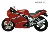 Ducati 750SS - 1996