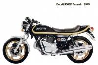 Ducati 900SD Darmah - 1979