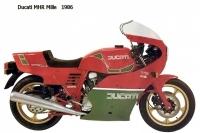 Ducati MHR Mille - 1986