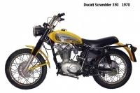 Ducati Scrambler 350 - 1970