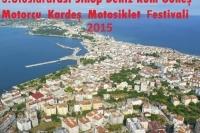 3. Uluslararası Sinop Deniz Kum Güneş Motorcu Kardeş Motosiklet Festivali