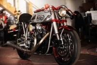 Kırmızı - Gümüş Norley Cafe Racer