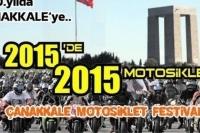 2015 Çanakkale Motosiklet Festivali