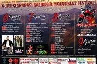 6. Balıkesir Motosiklet Festivali 2015
