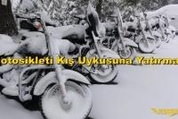 Motosikleti Kış Uykusuna Yatırmak