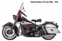 HD FLH DuoGlide - 1958
