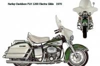 HD FLH1200 ElectraGlide - 1970