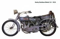 HD Model11J - sidecar - 1915