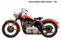 HD XL883 Sportster - 1957